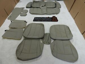 Leather Seat Covers Interior Fits Nissan Altima S Sl 2002 2003 2004 Tan F42