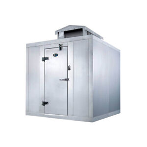 Amerikooler Qc060877 fbsc o 6 X 8 Outdoor Quick Ship Walk in Cooler With F