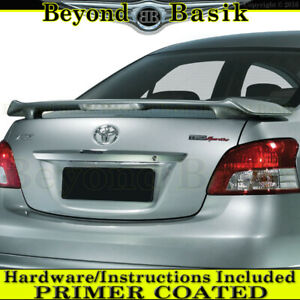 For 2007 2008 2009 2010 2011 2012 Toyota Yaris Factory Style Spoiler W l Primer