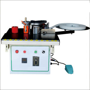1200w Edge Banding Machine Woodworking Straight Double Sided Curve Edge Bander