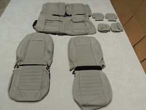 Factory Take Off Leather Seat Covers Fits Ford Mustang Coupe 2013 2014 A65