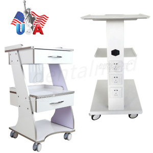 Mobile Dental Cart Trolley Built in Socket Tool Standard Auto water Supply