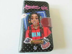 Nikky By Nicole Lee Universal Adjustable Cell Phone Case American Girl Print $21.00