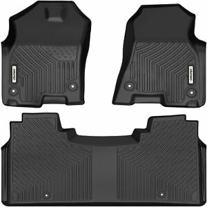 Oedro Floor Mats Front Rear Liners For 2019 21 Dodge Ram 1500 New Body Crew Cab