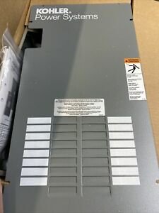 Kohler Rxt Series 100 amp Indoor Automatic Transfer Switch W 16 circuit Load