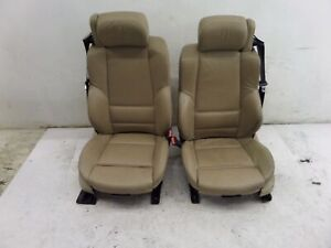 00 06 Bmw E46 3 Series Convertible Front Sports Seats 325 330 Memory Heated H