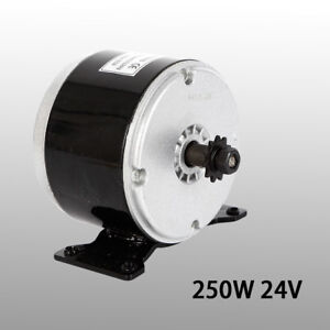 My1016 24v Brushed Motor For Electric Bicycle Scooter Mini Bike Quad Go kart