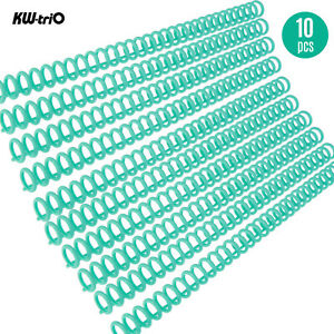 Kw trio 10pcs Plastic 30 hole Loose Binders Binding Spines Combs G4d4