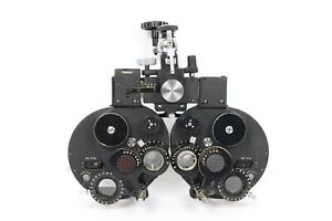 Bausch Lomb Phoropter Medical Optometry Unit For Ophthalmology Vision Exams