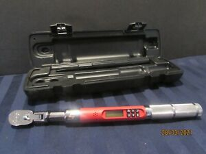 Like New Snap on Digital Torque Wrench 1 4 Drive 12 240 In Lb
