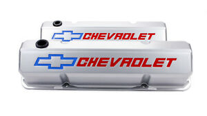 Proform 141 923 Aluminum Tall Valve Covers Fits Small Block Chevy Engines