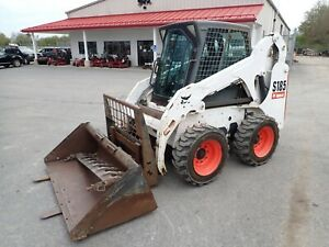 2010 Bobcat S185 Skid Steer Erops Aux Hydraulics Pre emissions Heat 954 Hrs