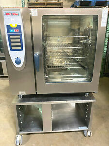 Rational Scc102 electric Combi Oven 10 Pan Full Size fully Refurbished