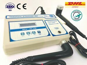 Best 1 3 Mhz Ultrasound Therapy Unit Dual Applicator Physical Therapy Machine