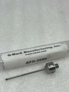 New Q mark Afg 2050 M5 Stylus 2mm X 50mm Ruby Ball Probe For Zeiss Cmm