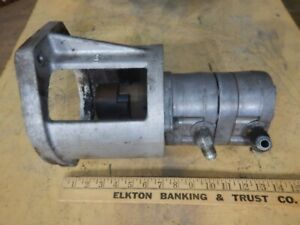 Webster 116 yc011 Hydraulic Pump With Mounting Bracket And Coupler