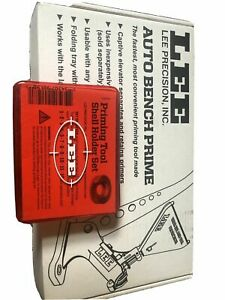 Lee 90700 Auto Bench Priming Tool With Lee 90198 Shell Holder Set $99.99
