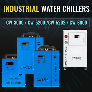 Omtech Water Chiller Cw 6000 Cw 5202 cw 5200 cw 3000 F Co2 Laser Tube Engraver