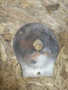1913 1922 Ford Model T Coil Box Switch Face Plate
