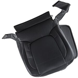 Driver Side Bottom Leather Seat Cover For Dodge Ram 1500 3500 2003 05 Dark Gray