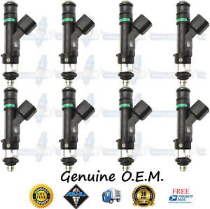 Reman Genuine Oem Ford 8x Fuel Injectors 0280158174 5 4l Expedition Navigator