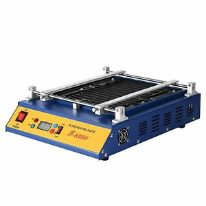 Open Box 110v 1600w Infrared Preheating Station Hot Plate Pcb Preheater 28x27cm