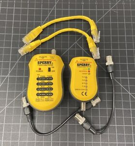 Sperry Instruments Tt64202 Cable Test Plus Coax Utp stp Cable Tester