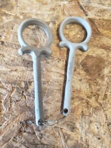 Early Ford Model T Hood Clamp Ringlets