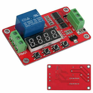 Upgraded Self lock Relay Plc Cycle Timer Module Delay Time Switch Version 2 0