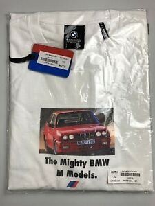 Kith X Bmw Mighty M Vintage Tee White Extra Large Nwt