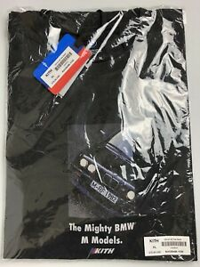 Kith X Bmw Mighty M Vintage Tee Black Extra Large Nwt