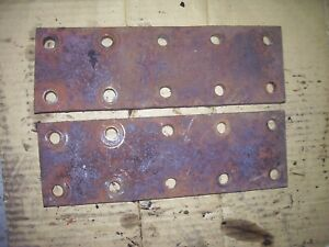 Vintage Mccormick Farmall M H Tractor 2 Fender Extensions