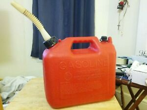 Vintage Wedco 2 5 Gallon Gas Container Can Made In Usa Pre Ban Model 81022