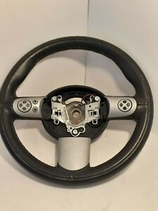 Mini Cooper S R50 R52 R53 3 Spoke Steering Wheel With Accessory Buttons