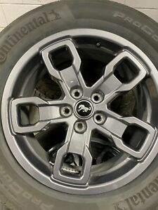 New Take Off Alloy Wheels And Tires 2021 Ford Bronco Sport Big Bend 17x7