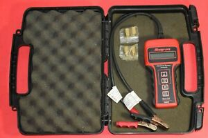 Snap On Micro Lcd Battery Charging Starting Electrical System Analyzer W Case
