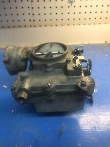 Rochester Two Barrel 2jet Carburetor 7012452 For 1955 58 Chevy With 283