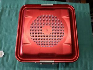 Aesculap Sterilization Container With Lid 1 2 Size