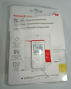 Honeywell Home Rpls740b1008 Econoswitch 7 day Programmable Light Switch Timer W