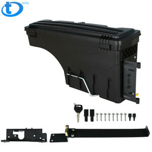 For 02 18 Dodge Ram 1500 2500 3500 Truck Wheel Well Storage Tool Box W lock Left
