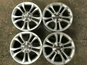 4 2014 2015 2016 Audi S4 Rims Factory Alloy Oem Wheels 18 With Center Caps