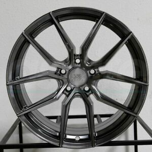 4 new 19 Xxr 559 Wheels 19x8 5 5x114 3 40 Chromium Black Rims 73 1