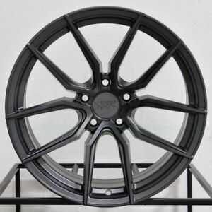 4 new 19 Xxr 559 Wheels 19x8 5 5x114 3 40 Graphite Rims 73 1