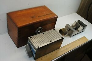 Brown Sharpe Magnetic Block And A Grinding Vise