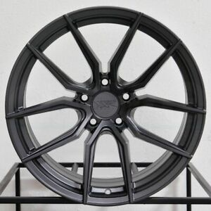 4 New 19 Xxr 559 Wheels 19x8 5 19x10 5x120 40 40 Graphite Staggered Rims 72 56