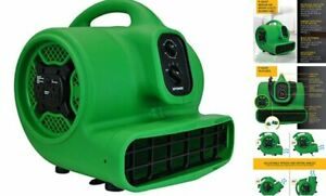 P 430at Medium Air Mover Utility Blower Fan With Built in Power Outlets