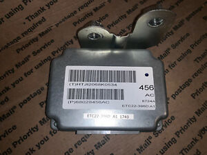 68028456ac 2009 Dodge Caliber 2 0l At Transmission Control Module Tcm