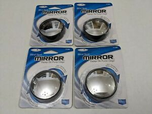4 Lot Custom Accessories 71183 Blind Spot Mirror 2 Round 360 Degree 4 Packs