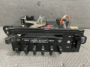 Oem 1982 1993 Dode Ram D150 D250 Ramcharger Heater Ac A C Climate Control