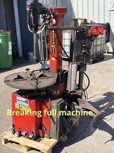 Corghi 2019 Tyre Changer Machine Breaking
